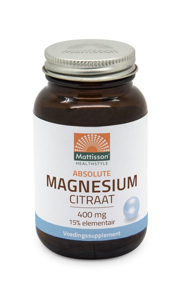 Mattisson Magnesium citraat capsules