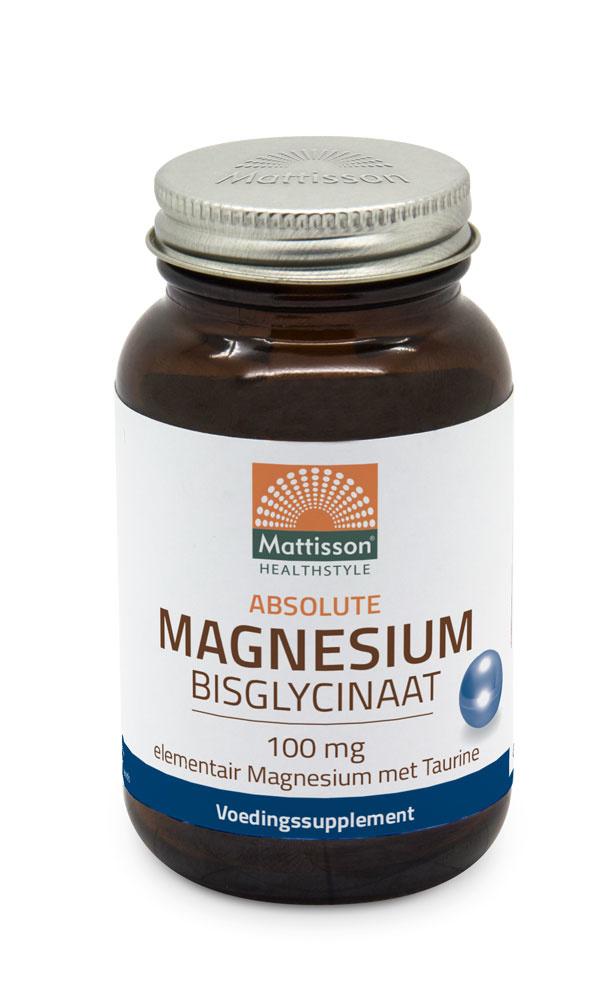 Mattisson Magnesium Bisglycinaat tabletten