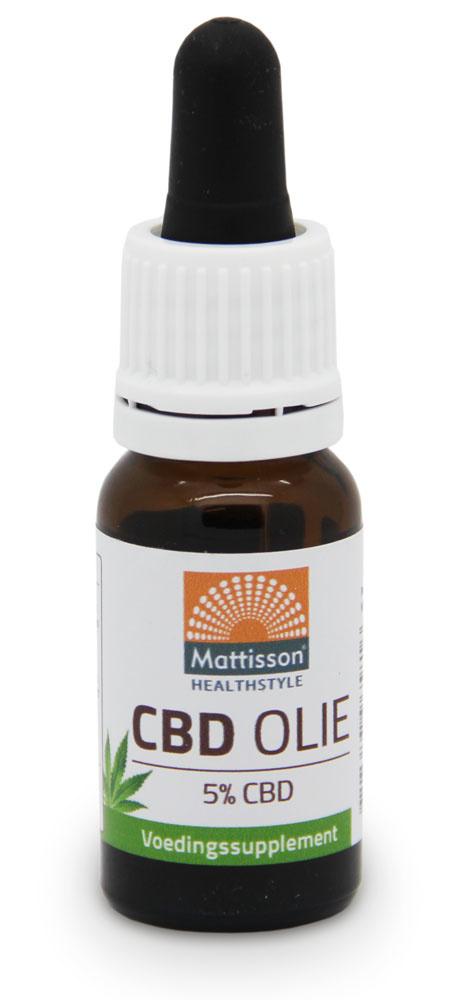 CBD olie 5 % 10 ml