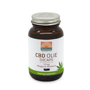 CBD olie 60 capsules 15mg