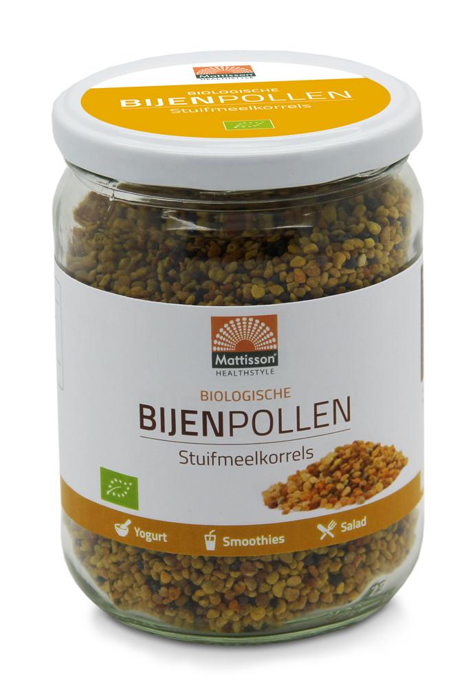 Bijenpollen BIO Stuifmeelkorrels Raw 300 gram