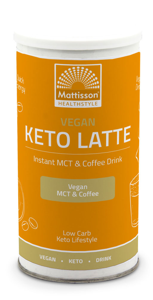 Mattisson Vegan Keto Latte Coffee Drink 200 gram