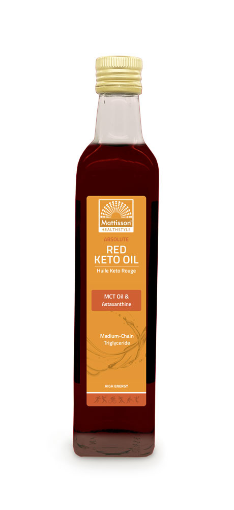 Red Keto Oil  MCT Astaxanthine 500 ml