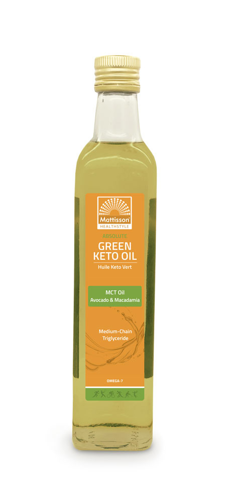 Green Keto Oil MCT - Avocado - Macadamia 500 ml