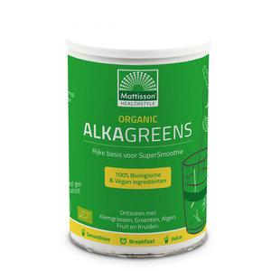 Mattisson AlkaGreens Organic BIO poeder 300 gram