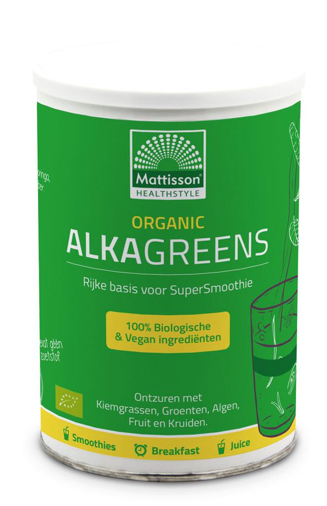 AlkaGreens Organic BIO poeder 300 gram