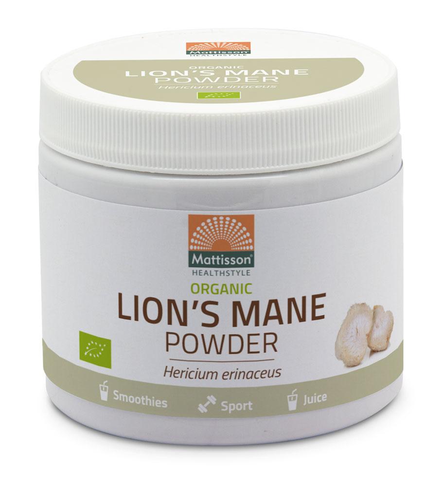Lion-s Mane Poeder Biologisch 100 gram