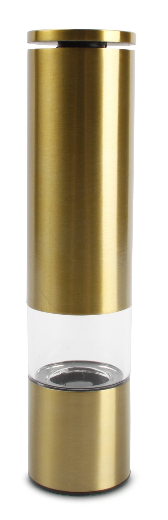 Peper- of zoutmolen goudkleurig 215 mm