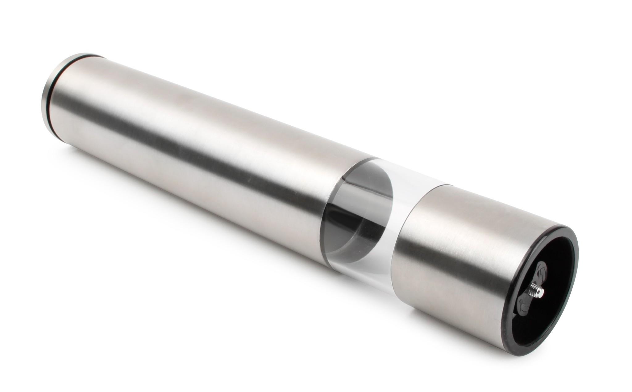 Peper- of zoutmolen zilverkleurig 285 mm