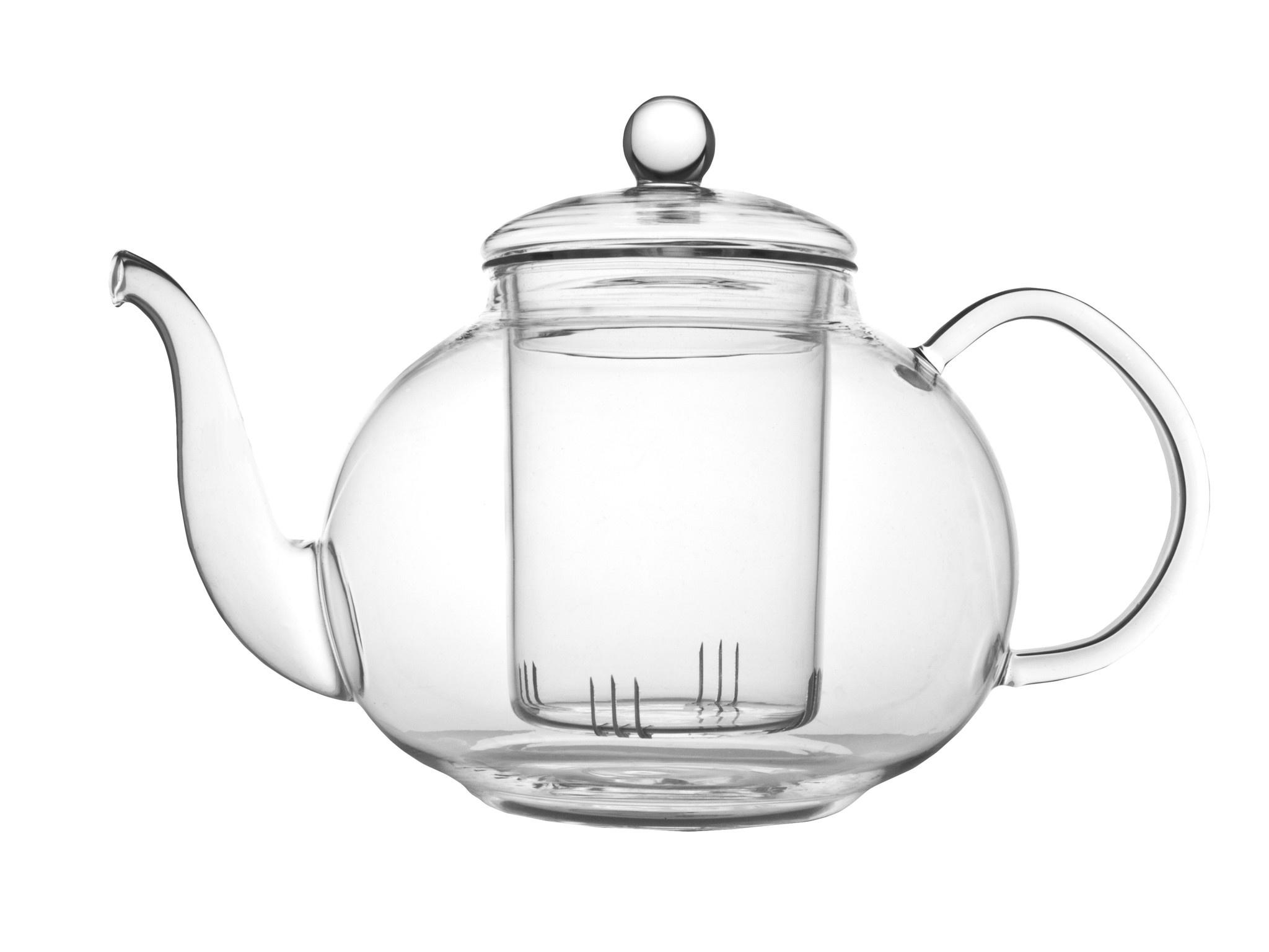 Theepot Verona 1.0 L enkelwandig glas