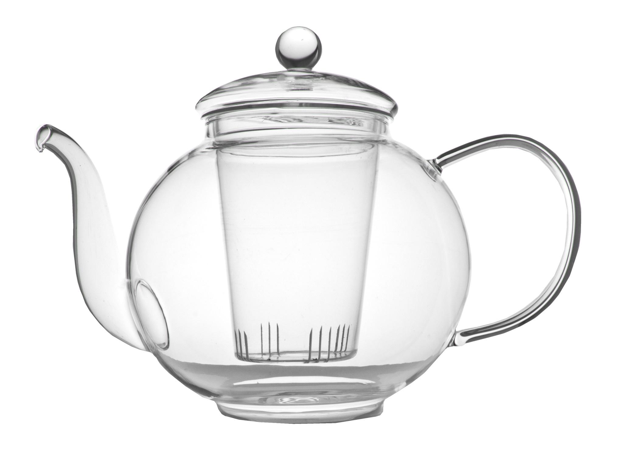 Theepot Verona 1.5 L enkelwandig glas