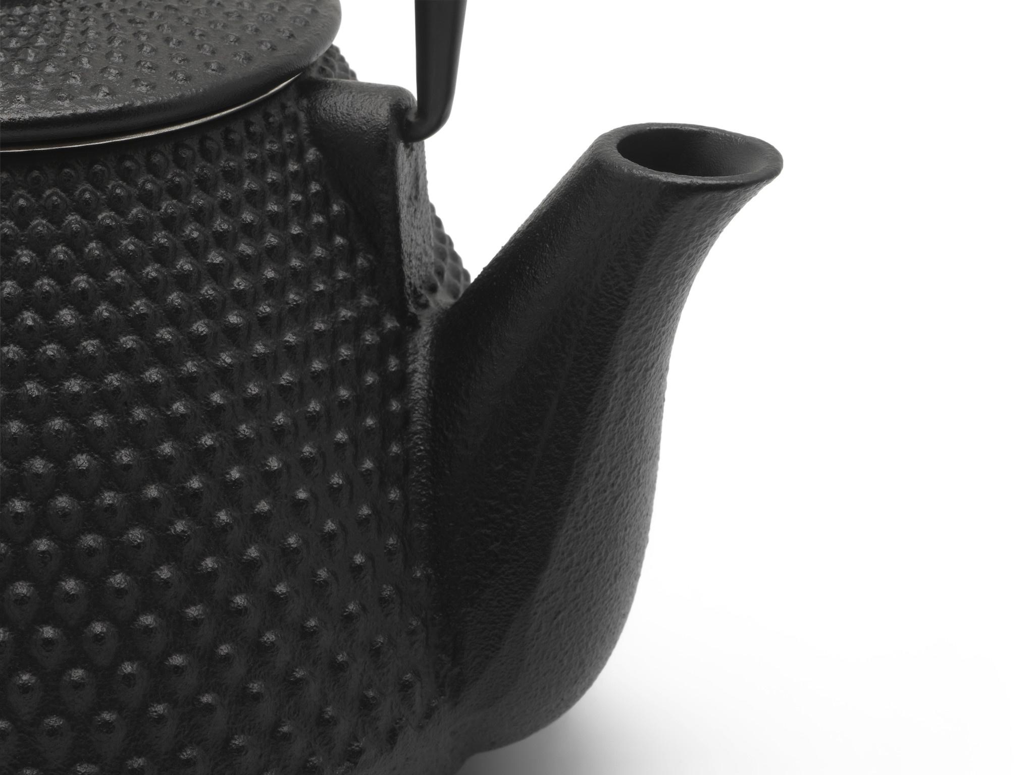 Theepot Wuhan 1.0 L gietijzer zwart