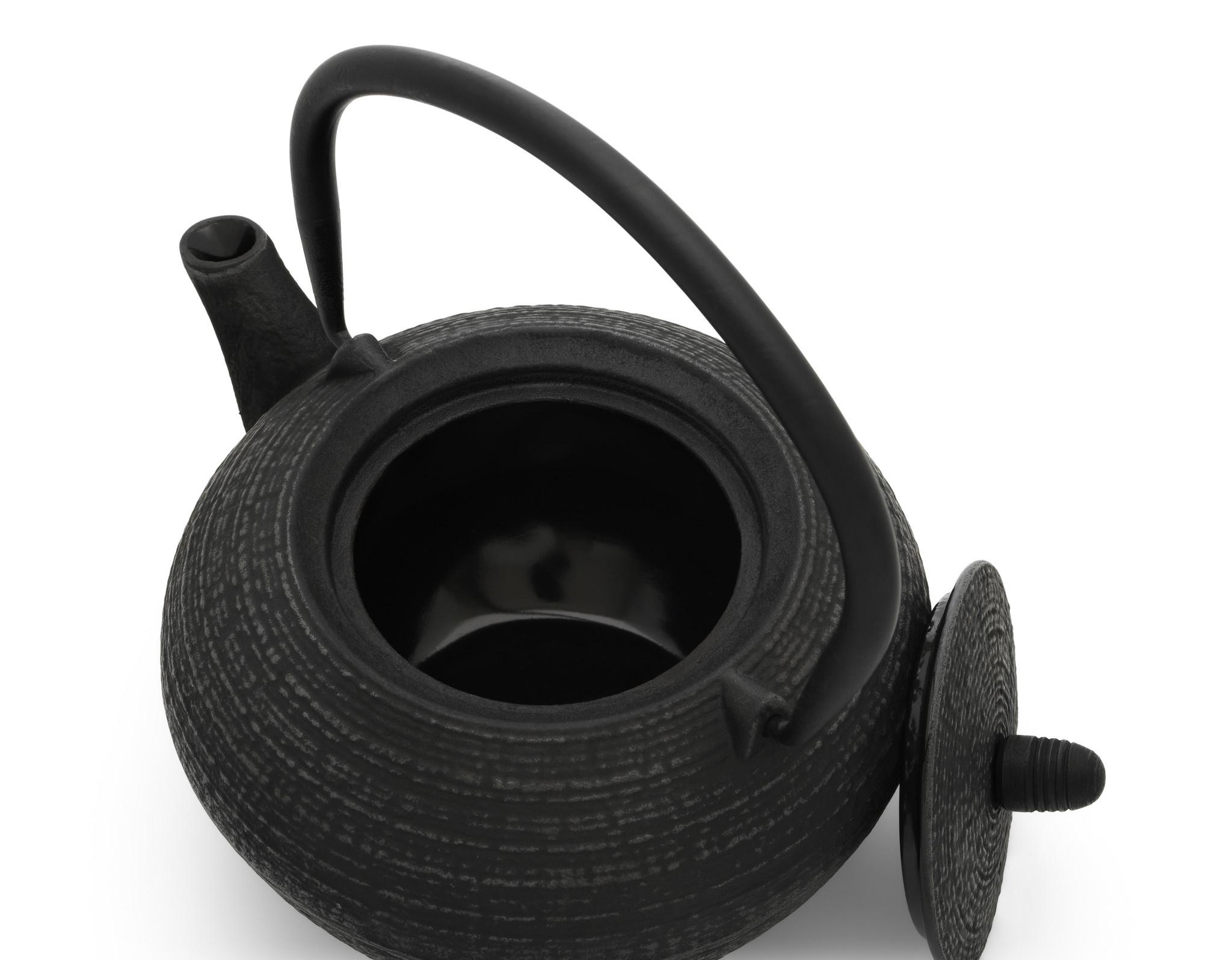 Theepot Tibet 1.2 L gietijzer zwart