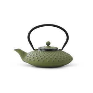 Theepot Xilin 0.8 L gietijzer groen