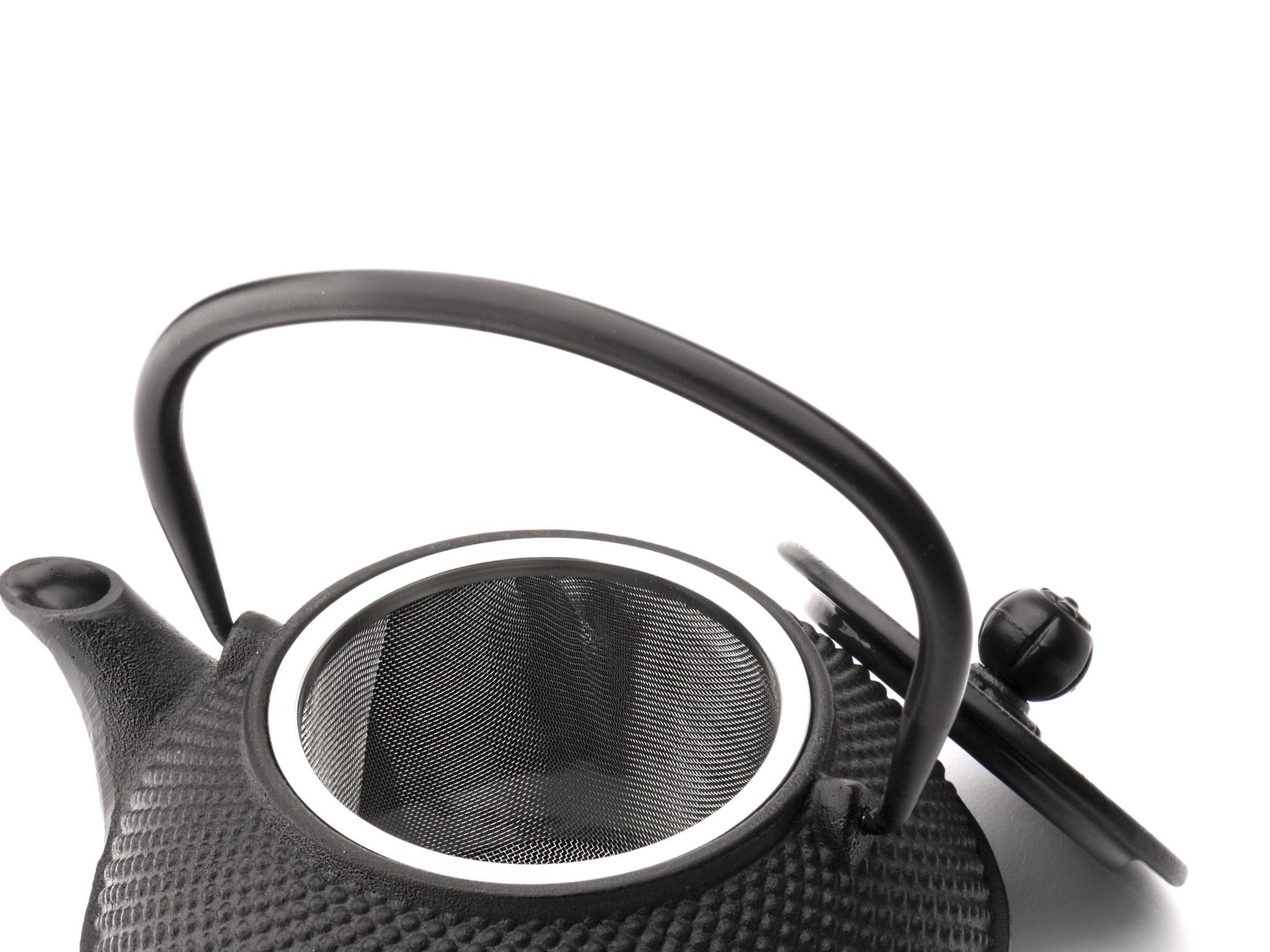 Theepot Jang 0.8 L gietijzer zwart