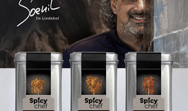 Spicy Chef Set of Spices by Soenil Bahadoer @Lindehof