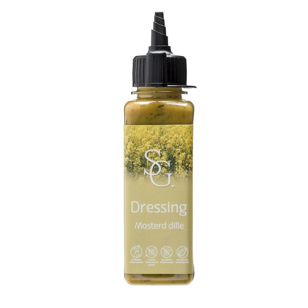Dressing Mosterd Dille 140ml y