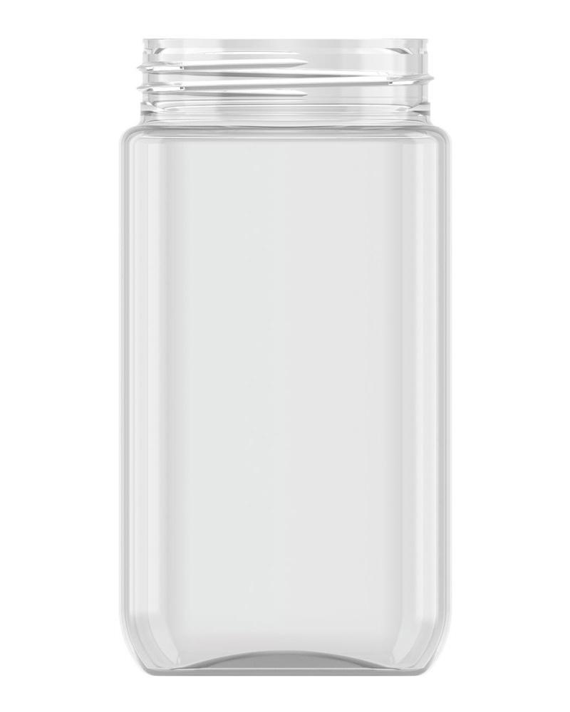 Strooibus kunststof 475 ml met zwarte deksel