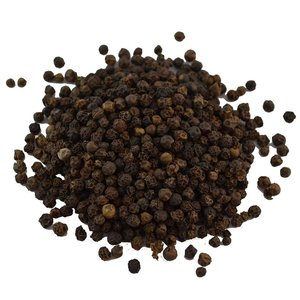 Peper zwart heel