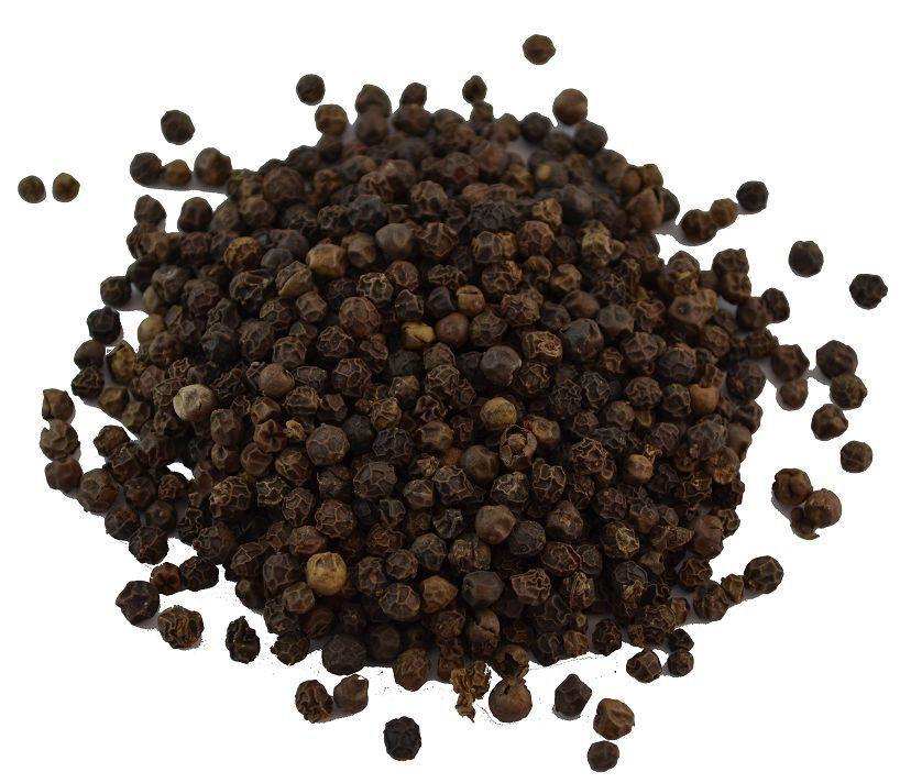Zwarte peperkorrels