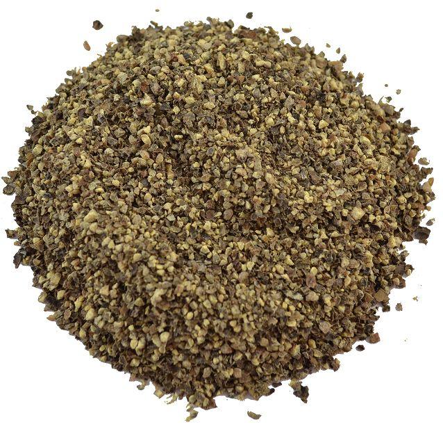 Zwarte gebroken peper