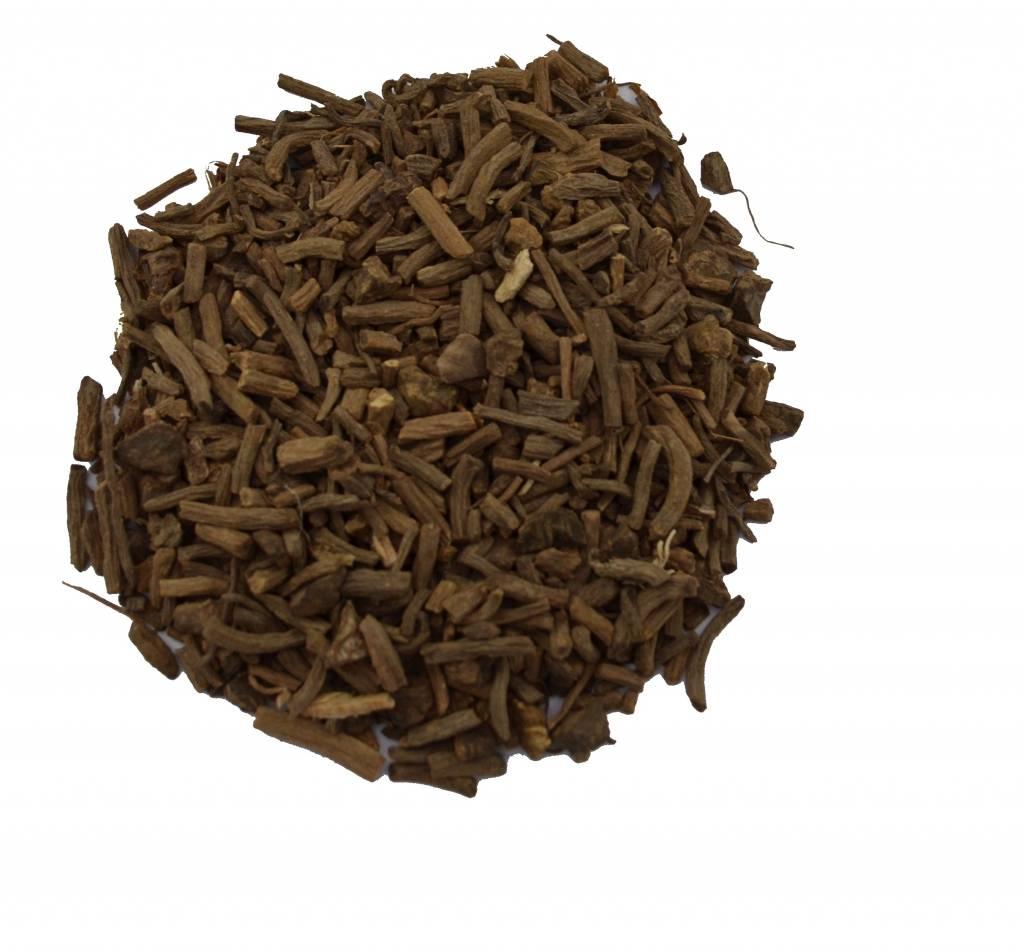 Valeriaanwortel gesneden