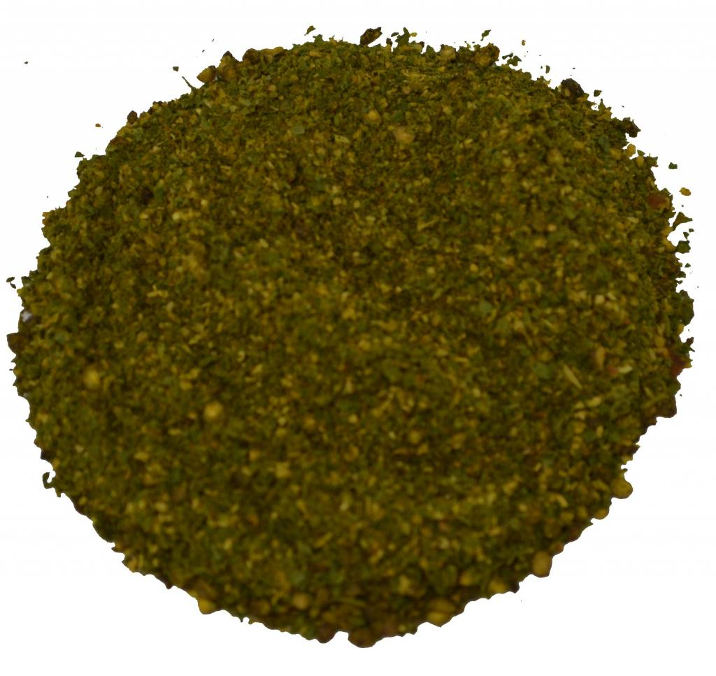 Knoflookpeper groen zonder zout