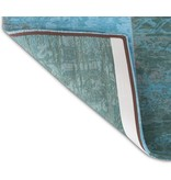 Louis De Poortere Vintage Patchwork - Azur 8015