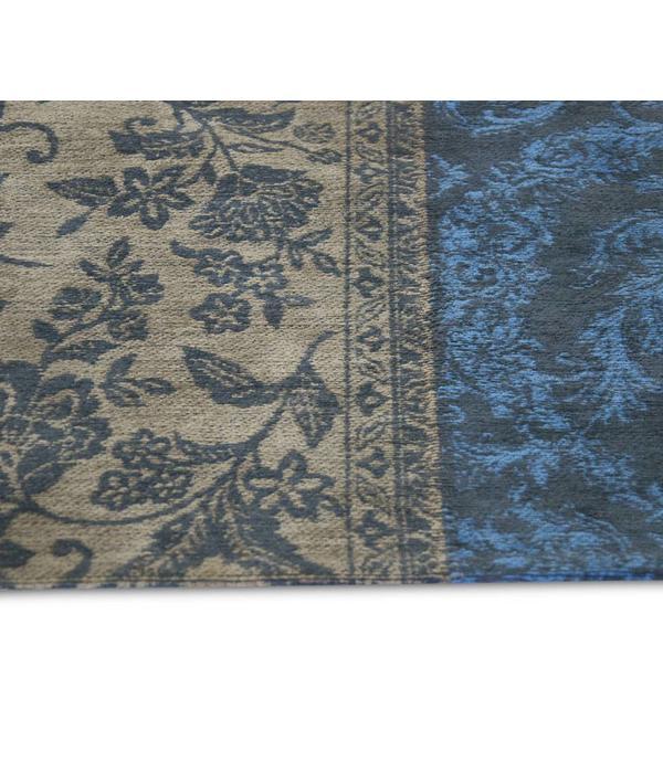 Louis De Poortere Vintage Patchwork - Forget Me Not 8107