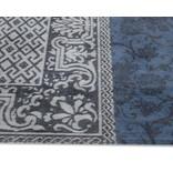 Louis De Poortere Vintage Patchwork - Blue Denim 8108