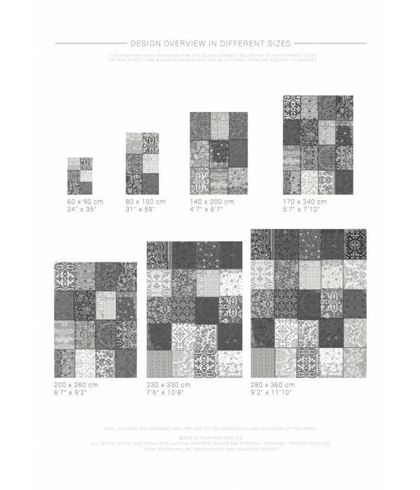 Louis De Poortere Vintage Patchwork - Yellow 8084