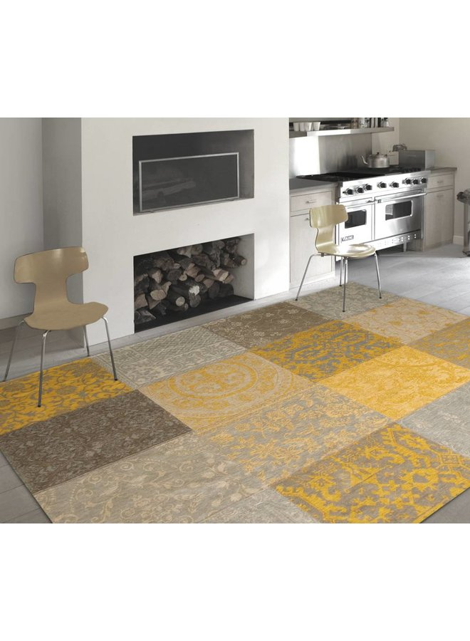 Vintage Patchwork - Yellow 8084 - Outlet