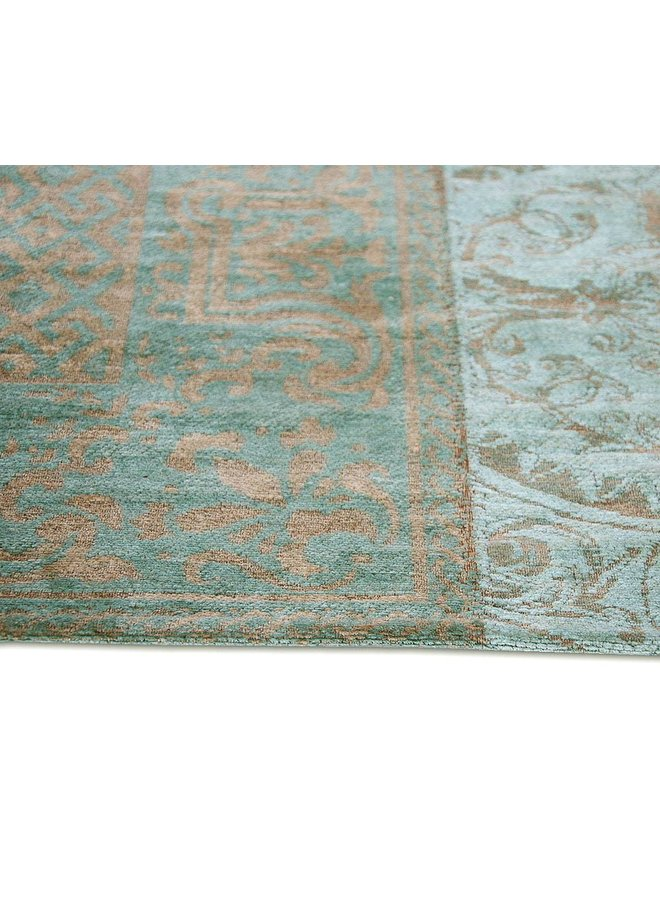 Vintage Patchwork - Sea Blue 8006