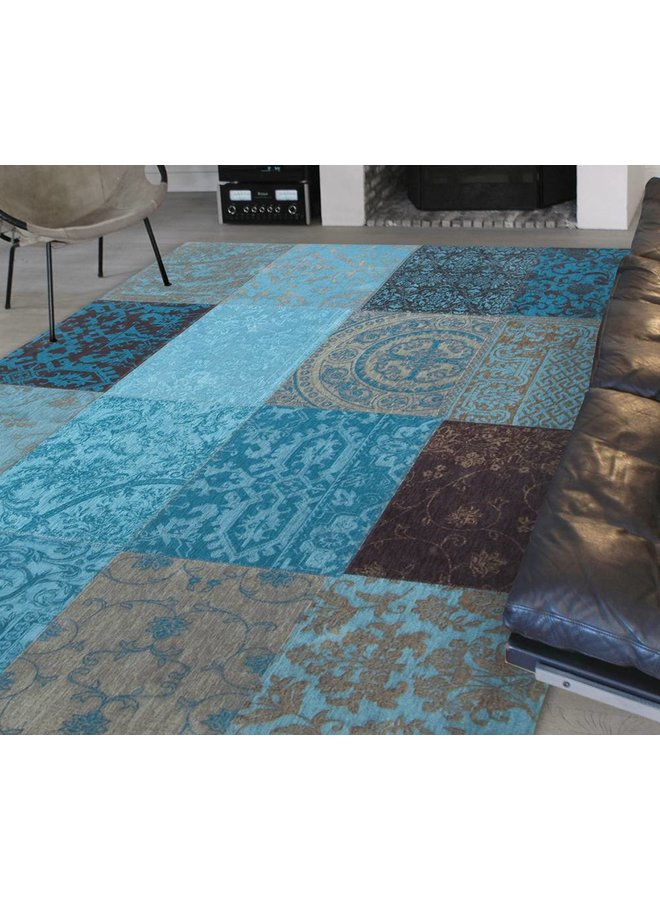 Vintage Patchwork - Turquoise 8105