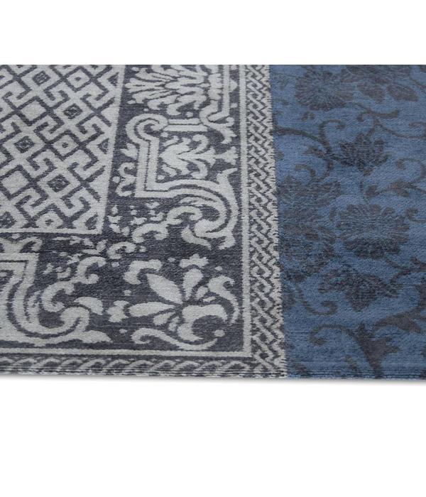 Vintage Patchwork - Blue Denim 8108 - 230x230cm