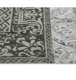 Vintage Patchwork - Black & White 8101 - 230x230cm
