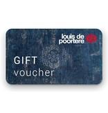 Louis De Poortere Chèque cadeau