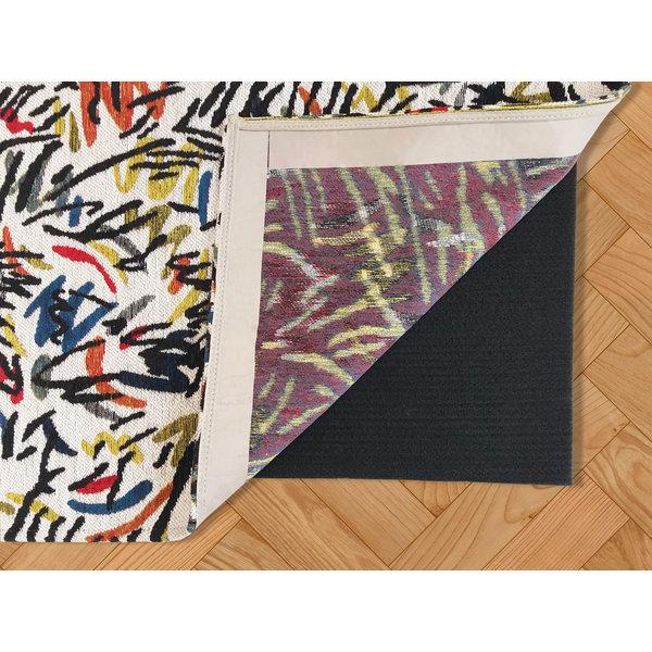 Anti-slip rug underlay