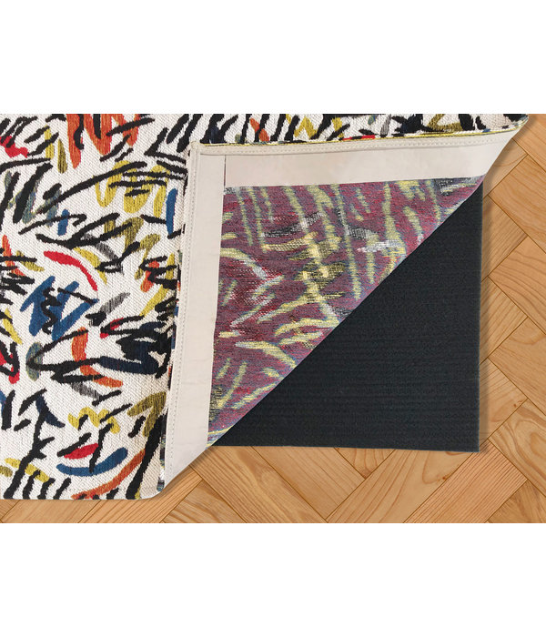 Voorkom uitglijden van uw tapijt door een antislip-ondervloer toe te voegen