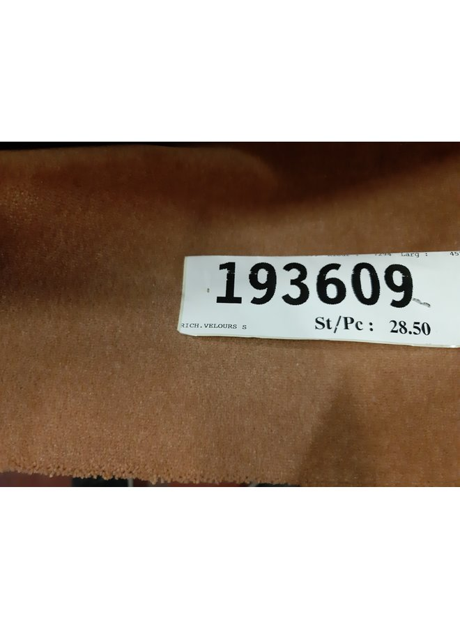RICHEL. VELOURS 7294 - 457 x 120 cm