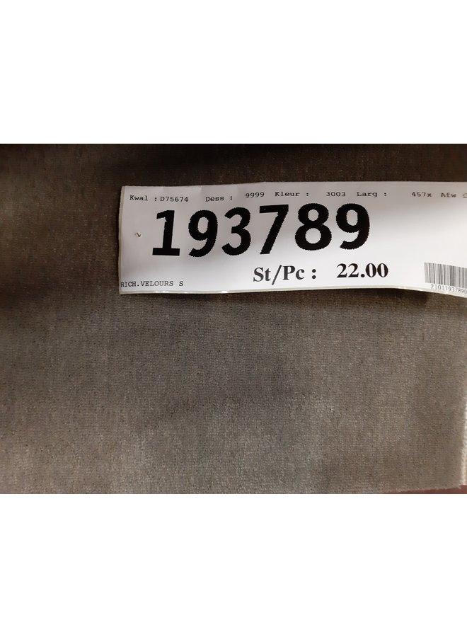 RICHEL. VELOURS 3003 - 457 x 700 cm