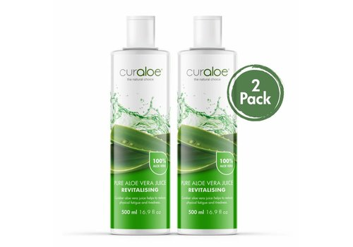 Curaloe® Health line - Pure Aloe Vera Juice  - 2 pack
