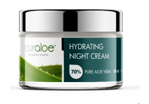 Curaloe® Facial line - Night Cream Aloe Vera 1.7 fl oz / 50ml
