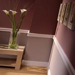 Wandlijsten / Cimaises / Wandplinten