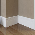 Vloerplinten / Plinthes (kunststof, HDPS)