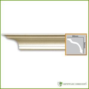 Grand Decor Kroonlijst P816 (94 x 90 mm), polyurethaan, lengte 2 m