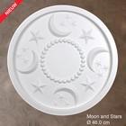 Grand Decor Rozet kinderkamer MOON AND STARS diameter 46,0 cm