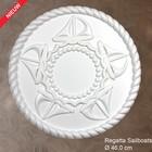 Grand Decor Rozet kinderkamer REGATTA SAILBOATS diameter 46,0 cm