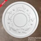 Grand Decor Rozet kinderkamer SPIRALING BUNNIES diameter 46,0 cm