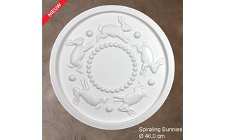 Grand Decor Rozet kinderkamer SPIRALING BUNNIES diameter 46,0 cm